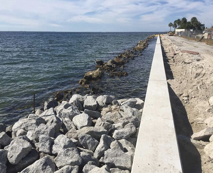 I-275 Sunshine Skyway Rest Area Rehabilitation Project and Seawall Repairs - 2