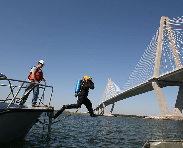 Statewide Underwater Bridge Inspections in South Carolina - 1