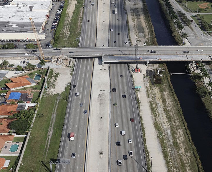 Homestead Extension of the Florida Turnpike Widening and Express Lane - 2