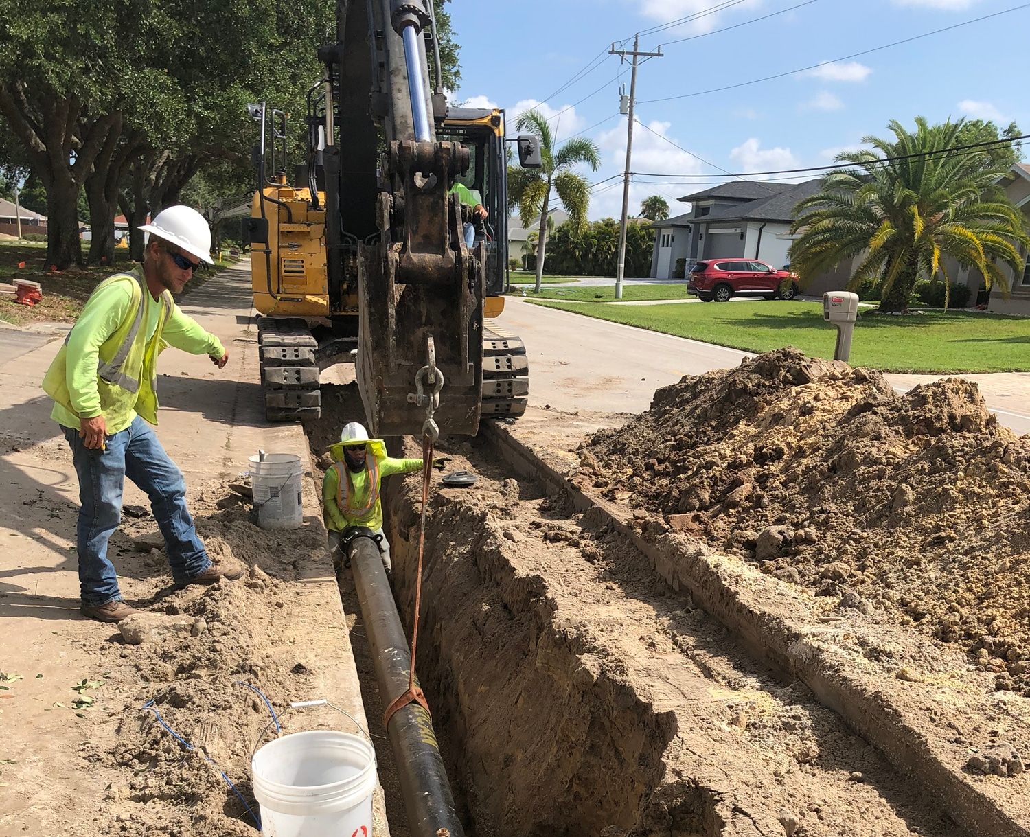 Underground Fire Lines Replacement - 1
